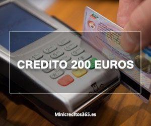 Credito 200 euros
