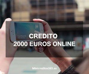 Credito 2000 euros online