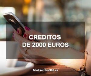 Creditos de 2000 euros