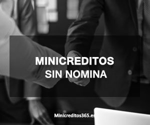 Minicreditos sin nomina