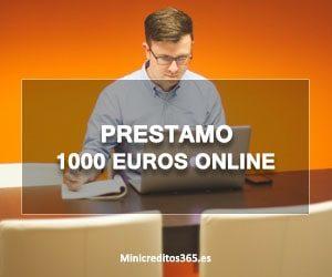 Prestamo 1000 euros online