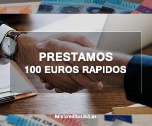 Prestamos 100 euros rapidos