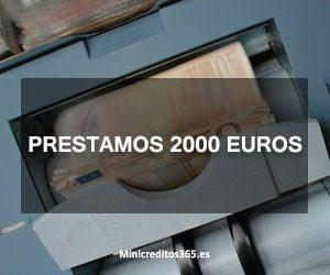 Prestamos 2000 euros