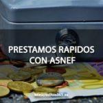 Prestamos rapidos con ASNEF