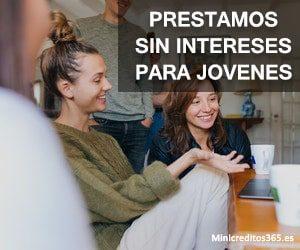 prestamos sin intereses para jovenes
