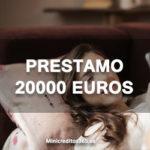 Un Prestamo 20000 euros