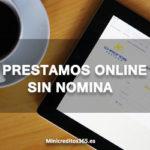Prestamos online sin nomina