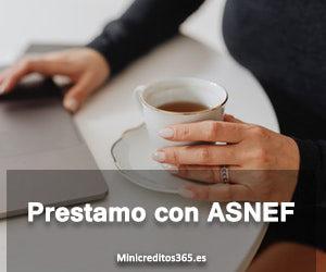 prestamo con ASNEF