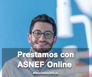 prestamos con ASNEF online
